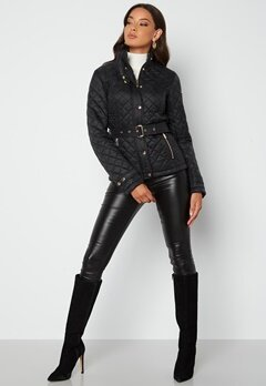 Chiara Forthi Sarraceno Short Jacket Black bubbleroom.dk