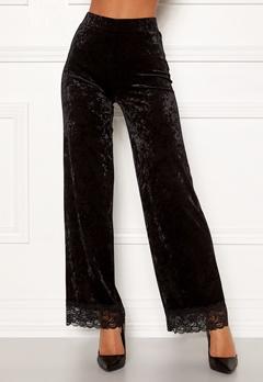 Chiara Forthi Sentiera Lace Pants Black Bubbleroom.dk