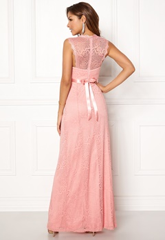 Chiara Forthi Serena Lace Gown Pink Bubbleroom.dk