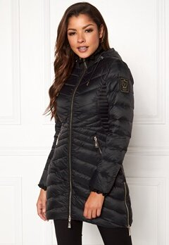 Chiara Forthi Sestriere Light Down Jacket Black Bubbleroom.dk