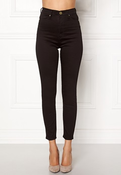 Chiara Forthi Sky-High Megastretch Ankle Jeans Black / Gold Bubbleroom.dk