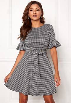 Chiara Forthi Sophie checked dress Checked Bubbleroom.dk