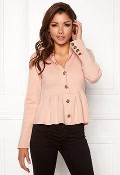 Chiara Forthi Stefania Knit Jacket Pink Bubbleroom.dk