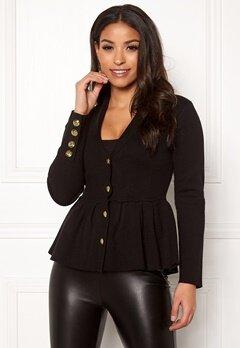 Chiara Forthi Stefania Knit Jacket Black Bubbleroom.dk
