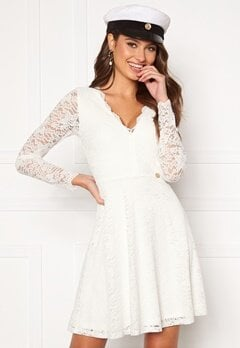 Chiara Forthi Stephanie dress White Bubbleroom.dk