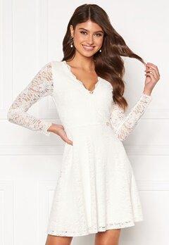 Chiara Forthi Stephanie dress White Bubbleroom.dk