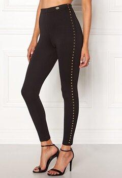 Chiara Forthi Studded Pants Black Bubbleroom.dk