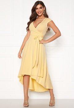Chiara Forthi Tara Highlow Dress Light yellow Bubbleroom.dk