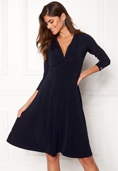Chiara Forthi Tiamii Jersey Dress Dark blue Bubbleroom.dk