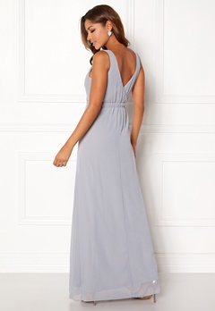 Chiara Forthi Tilia Embellished Dress Light grey Bubbleroom.dk