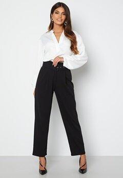 Chiara Forthi Traviata soft suit pants Black bubbleroom.dk