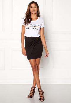 Chiara Forthi Trilby Bow Skirt Black Bubbleroom.dk