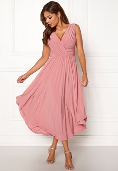 a56b253587ad Chiara Forthi Valeria Dress Heather pink Bubbleroom.dk