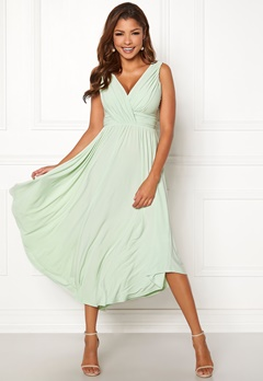 Chiara Forthi Valeria Dress Light green Bubbleroom.dk