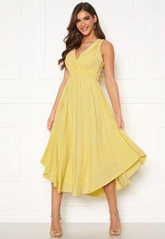 Chiara Forthi Valeria Dress Yellow Bubbleroom.dk