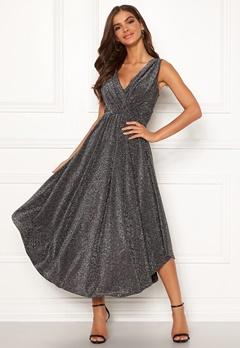 Chiara Forthi Valeria Sparkling Dress Black / Silver Bubbleroom.dk
