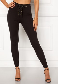 Chiara Forthi Velona lace-up leggings Black Bubbleroom.dk