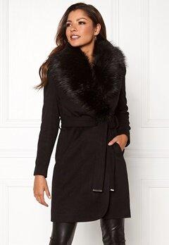 Chiara Forthi Verona Coat Black Bubbleroom.dk