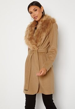Chiara Forthi Verona Coat Camel Bubbleroom.dk