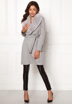 Chiara Forthi Verona Coat Grey Bubbleroom.dk