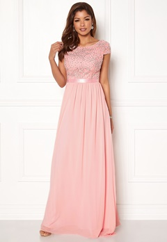 Chiara Forthi Viviere Sparkling Gown Pink Bubbleroom.dk