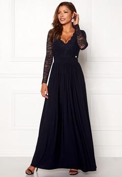 Chiara Forthi Wendolyn gown Dark blue Bubbleroom.dk