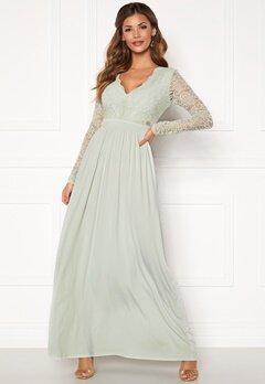 Chiara Forthi Wendolyn gown Dusty green Bubbleroom.dk