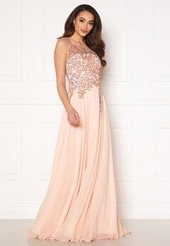 Christian Koehlert Alexandria Embellished Dress Pearl Pink Bubbleroom.dk