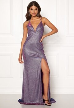 Christian Koehlert Dream Glitter Dress Glitter Purple Bubbleroom.dk