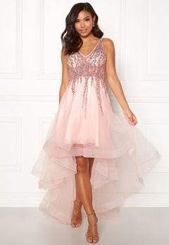Christian Koehlert Sparkling Short Dream Dress Pearl Pink Bubbleroom.dk