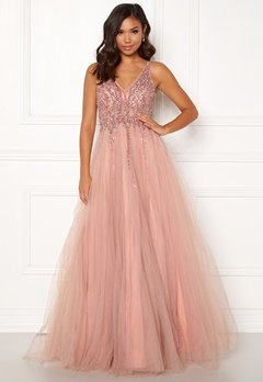 Christian Koehlert Sparkling Tulle Dream Dress Dawn Pink Bubbleroom.dk