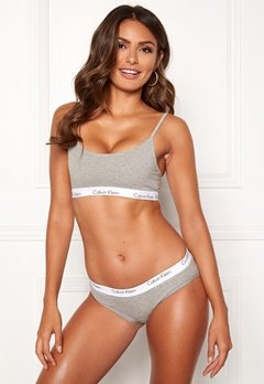 Calvin Klein CK One Cotton Bralette Grey Heather Bubbleroom.dk