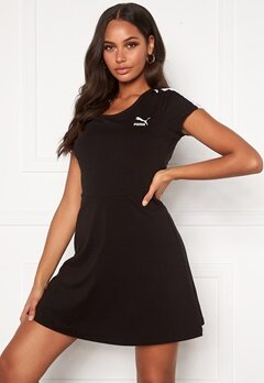 PUMA Classic Shortsleeve Dress Black Bubbleroom.dk