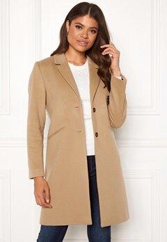 GANT Classic Tailored Coat 248 Dark Khaki Bubbleroom.dk