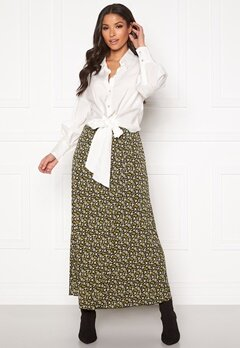 co'couture Alina Flower Skirt Mustard Bubbleroom.dk