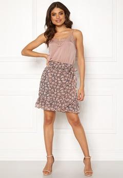co'couture Amber Skirt Orange Bubbleroom.dk