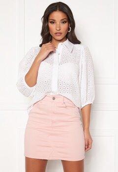 co'couture Briela Anglaise Shirt White Bubbleroom.dk