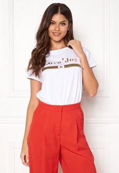 co'couture Cosma Couture T-shirt 4000 White Bubbleroom.dk