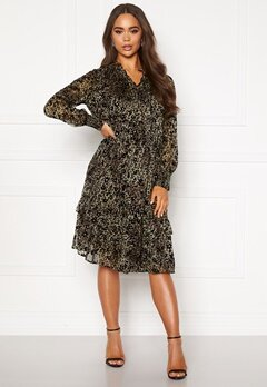co'couture Gemma Frill Dress Army Bubbleroom.dk