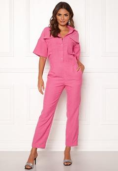 co'couture Parnella Jumpsuit Flash Pink Bubbleroom.dk