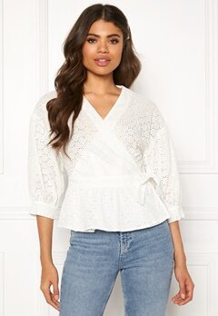 co'couture Trinetta Anglaise Shirt White Bubbleroom.dk
