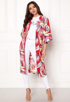 co'couture Tropical Kimono Rio Red Bubbleroom.dk