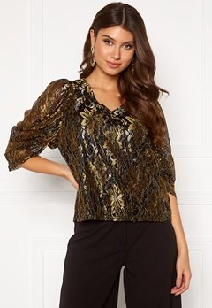 co'couture Turner Lace Blouse Gold Bubbleroom.dk
