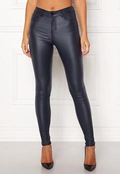 VILA Commit New Coated Jeans Total Eclipse Bubbleroom.dk