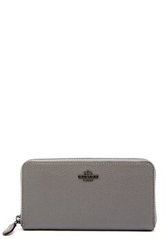 COACH Cordion Zip Around Wallet DKHGR Heather Grey Bubbleroom.dk