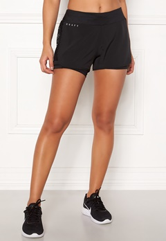 Craft Charge 2-in-1 Shorts Black Bubbleroom.dk