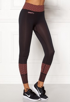 Craft Core Block Tights Dahlia/Black Bubbleroom.dk