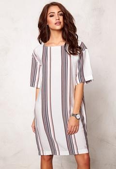DAGMAR Fedelia dress Stripe print Bubbleroom.dk