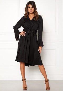DAGMAR Josephine Dress Black Bubbleroom.dk