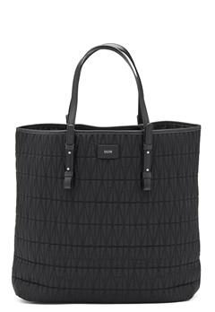 DAGMAR Quilted Shopping Bag Black Bubbleroom.dk